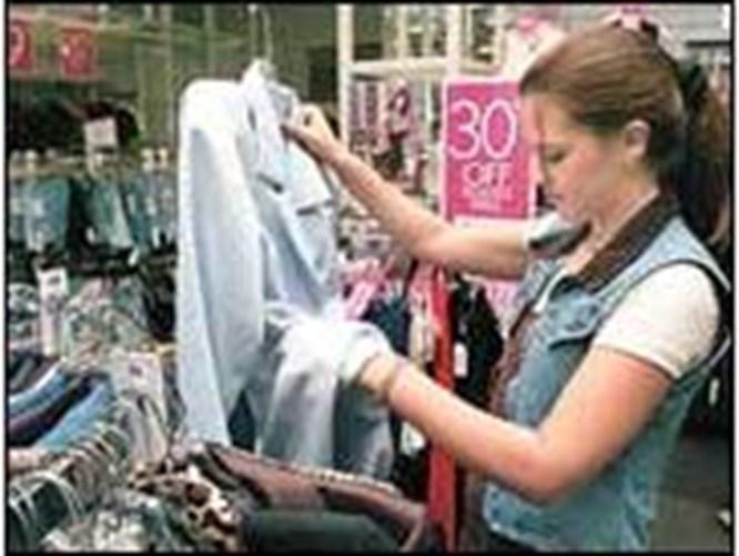 Kadının alışveriş halleri